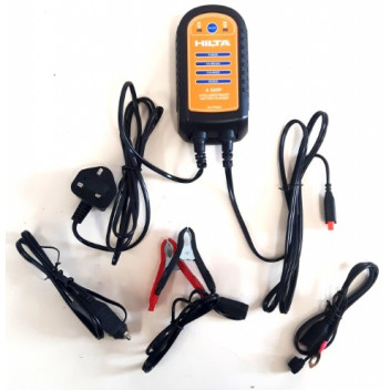 Ring RCB106 6A Battery Charger 12V Lead Acid Batteries Vehicles up to 1.6L